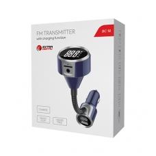 FM moduliatorius BC18 (greito krovimo funkcija+AUX+micro SD+laisvų rankų įranga+įtampos aptikimas)