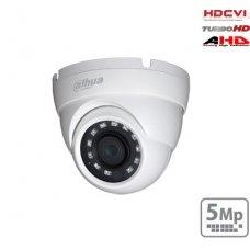"HD-CVI kupolinė kam. 5MP su IR pašvietimu iki 30m., 1/2.7"" 2.8mm 98°, IP67"