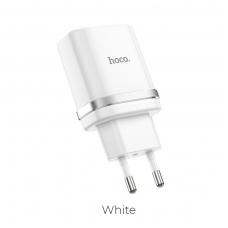 Įkroviklis buitinis HOCO C12Q Quick Charge 3.0 baltas
