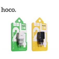 Įkroviklis buitinis HOCO C22A (2.4A) baltas