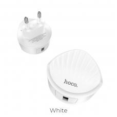Įkroviklis buitinis HOCO C68A Quick Charge 3.0 baltas