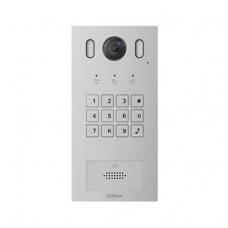 "IP domofono kamera, 1 abonento,  2MP 1/2.9"" colio 140°, integruotas kortelių skaitytuvas,IP55, IK08"