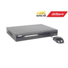 IP įrašymo įrenginys 8 kam., 4K 8MP, 1HDD, 8 PoE, 80Mbps, H.265/H.264, IVS