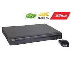IP įrašymo įrenginys 8kam. 4K 12MP 320Mbps, 2HDD, 8 ePoE sąsajos iki 800m, H.265+, IVS