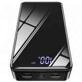 Išorinė baterija Power Bank Borofone BJ8 30000mAh juoda