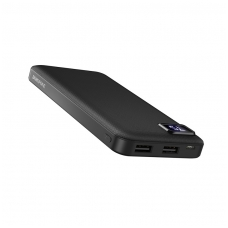 Išorinė baterija Power Bank Borofone BT22 su LCD ekranu 10000mAh juoda