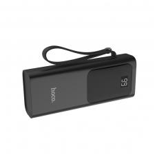 Išorinė baterija Power Bank Hoco J41 su LCD ekranu 10000mAh juoda
