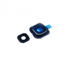 Kameros stikliukas Samsung G925 S6 Edge mėlynas HQ