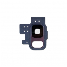 Kameros stikliukas Samsung G960 S9 mėlynas ORG