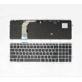 Klaviatūra HP Envy TouchSmart: 15-J, 17-J, M7-J, 17T-J su rėmeliu
