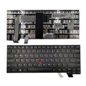 "Klaviatūra LENOVO ThinkPad: T460, T460P, T470, T470P su ""trackpoint"""