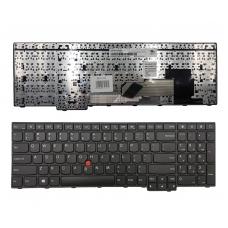 Klaviatūra Lenovo: ThinkPad E550 E555 su rėmeliu ir valdymo tašku