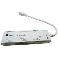 Kortelių skaitytuvas OTG 5 lizdai>> Micro USB