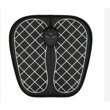 Kojų masažuoklis MF004 juodas