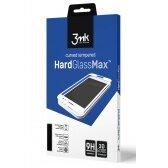 Huawei P40 Lite LCD apsauginis stikliukas 3MK Hard Glass Max juodas