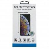 Apple iPhone 7/8 LCD apsauginis stikliukas 5D Perfectionists lenktas baltas