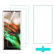 """Samsung N975 Note 10 Plus LCD apsauginis stikliukas ESR """"3D Full Coverage"""" lenktas juodas"""
