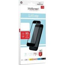 Samsung A405 A40 juodas apsauginis stikliukas MyScreen Lite Edge Full Glue