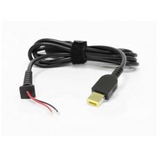 Maitinimo šaltinio kabelis su jungtimi: IBM/LENOVO (Square interfaces with pin)