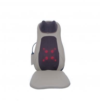 """Masažinė sėdynė Tellos BC-015 """"Bodycare"""" (kaklo, nugaros ir sėdmenų masažuoklis) rudas"""
