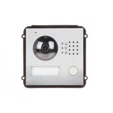 Modulinė IP domofono kamera jungiama dviem laidais 1.3M 90°, IP 66, IK07