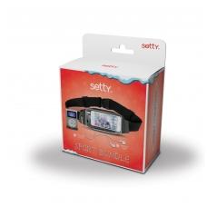 MP3 grotuvas Setty su ausinėmis ir dėklu nat juosment (LCD) juodas