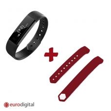 Papildoma išmaniojo laikrodžio apyrankė, raudona