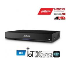 Pentabrid 4K įrašymo įreng. 4kam. HDCVI/AHD/TVI/CVBS/IP, 4K 7fps, 4MP 15fps, IoT,H.265, AI, SMD