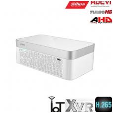 Pentabrid 4K įrašymo įreng. 8kam., 4K 7fps, 4MP 15fps, integruotas akumuliatorius, IoT,H.265, 1HDD