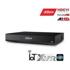 Pentabrid 4K įrašymo įreng. 8kam. HDCVI/AHD/TVI/CVBS/IP, 4K 15fps, 4MP 25fps, IoT,H.265, 1HDD