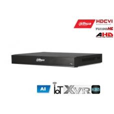 Pentabrid 4K įrašymo įreng.16kam. HDCVI/AHD/TVI/CVBS/IP, 4K 7fps, 4MP 15fps, AI, SMD,IoT,H.265, 2HDD