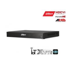 Pentabrid 4K įrašymo įreng.16kam. HDCVI/AHD/TVI/CVBS/IP, 4K 7fps, 4MP 15fps, IoT,H.265, 2HDD
