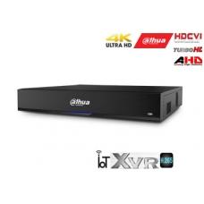 Pentabrid 4K įrašymo įreng.16kam. HDCVI/AHD/TVI/CVBS/IP, 4K 7fps, 4MP 15fps, IoT,H.265, 4HDD