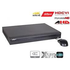 Pentabrid 4K įrašymo įrenginys 16kam. HDCVI/AHD/TVI/CVBS/IP, 4K 7fps, 4MP 15fps(non-realtime), PoC
