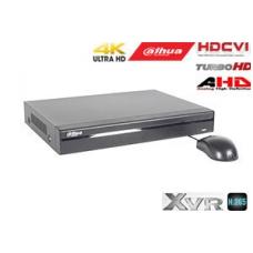 Pentabrid 4K įrašymo įrenginys 16kam. HDCVI/AHD/TVI/CVBS/IP, HDCVI 4K 7fps, 4MP 15fps(non-realtime)