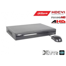 Pentabrid  įrašymo įreng. 16kam. HDCVI/AHD/TVI/CVBS/IP 2MP 15fps (non-realtime), H.265+,1HDD