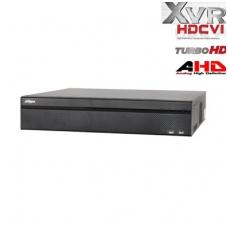 Pentabrid įrašymo įrenginys HDCVI/AHD/TVI/CVBS/IP 16kam. + 8IP, 2MP 15fps (non-realtime)