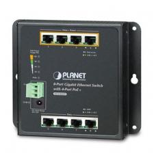 PoE switch 1G 4ch. + 4 uplink, indust.