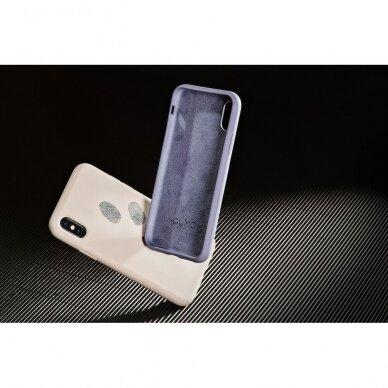 "iPhone XS Max dėklas Pump Silicone Minimalistic ""Do Not Disturb"" 4"