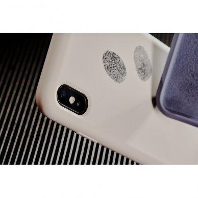 "iPhone X/XS dėklas Pump Silicone Minimalistic ""Circles on Light"" 3"