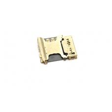 SIM ir MicroSD kortelės kontaktas Samsung i8260 Core/i8262 Core Duos/G350 Core Plus originalus