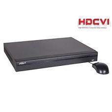 Tribrid įrašymo įrenginys 4kam. HDCVI 4MP 15fps (non-realtime), analog. 960H 25fps + 4IP iki 5MP