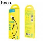 USB kabelis HOCO X25 lightning 1m juodas
