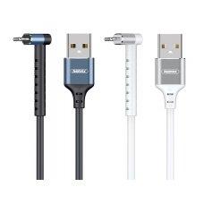 USB kabelis Remax RC-100i Lightning baltas