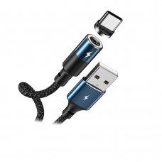 USB kabelis Remax RC-102a Type-C juodas