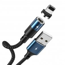 USB kabelis Remax RC-102i Lightning juodas